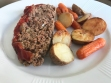 KitchAnnette TV Dinner Meatloaf Potatoes Carrots Hero