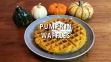 KitchAnnette Pumpkin Waffles TITLE